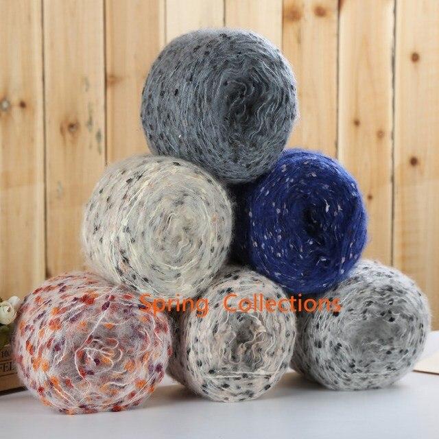 9 couleur 500 g lot Crochet À tricoter À La Main fil de laine pas ... 4c0af59051b