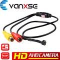 Vanxse CCTV HD 1000TVL 1.3MP 960 P AHD 3.6mm 6 PCS LEDs IR HD Mini Câmera de Segurança de Vigilância PARA AHD DVR