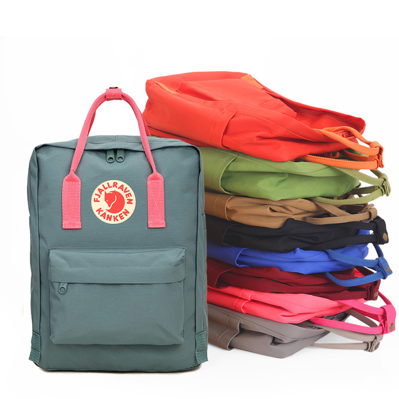 School Bags 2018 fashion Student Kanken Backpack Arrival Children Waterproof Backpacks Mochila classic for Student bags ...