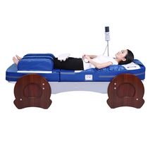 HFR-168-1F Split-body Leg Airbag Pressure Electric Kneading Full Body Roller Massage with Carbon Fiber Heating Jade Massage Bed byriver factory wholesale therapy center jade massage bed reflax shiatsu full body massager equipment 5 4 jade roller