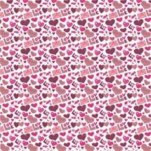 10 шт./лот Печатных Сердце Любовь Синтетическая кожа ткань Vinly для День святого Валентина волос лук сумки 20 * см 34 см PPUL29