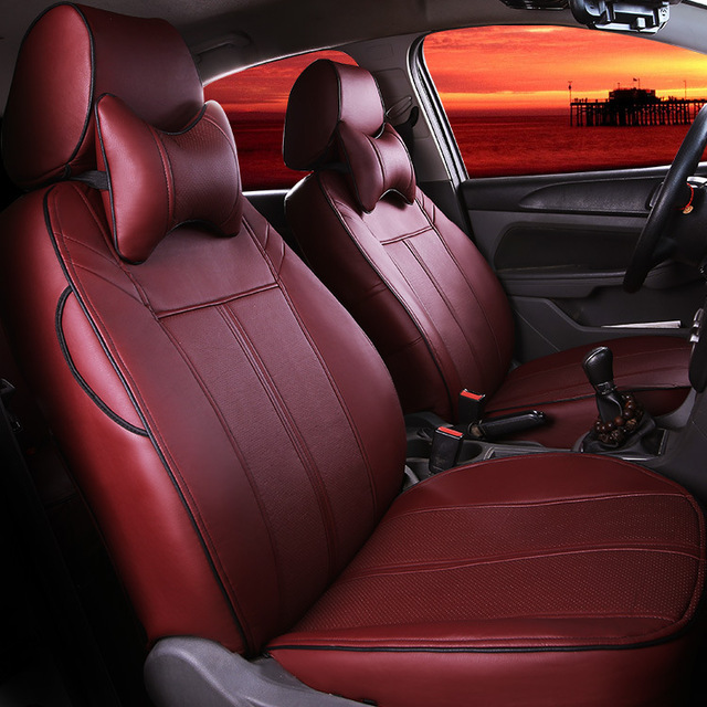 Car Seat Covers Leather Mat Special Pad Interior Accessories For - Alfa romeo seat covers