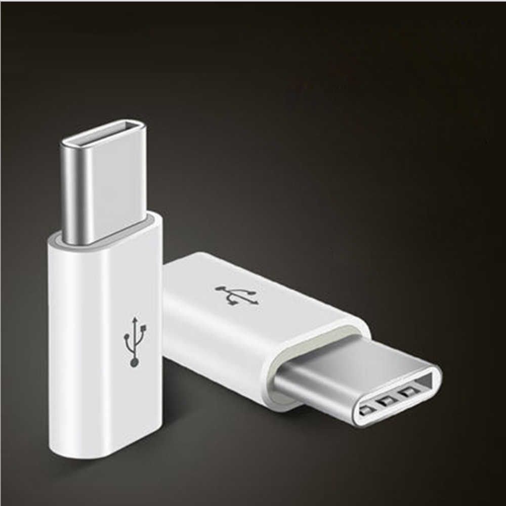 Mini Micro USB 3.1  Female Jack To Type-c Male or 8pin Connector Data Converter Charging Adapter