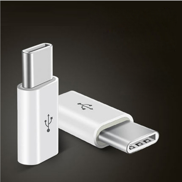 Mini Micro USB 3.1  Female Jack To Type c Male or 8pin Connector Data Converter Charging Adapter