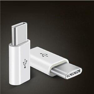 Image 1 - Mini Micro USB 3.1 prise femelle à type c mâle ou 8pin connecteur convertisseur de données adaptateur de charge