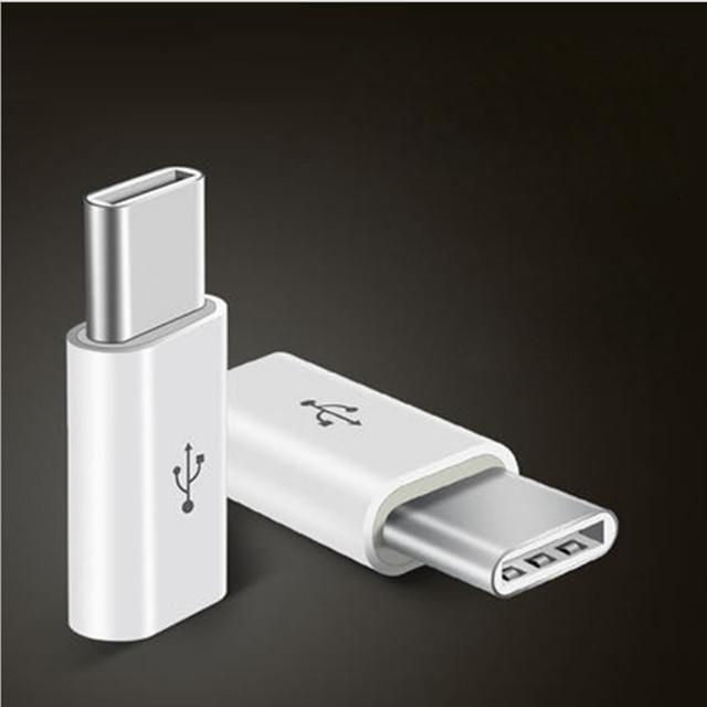 Mini Micro USB 3.1 prise femelle à type c mâle ou 8pin connecteur convertisseur de données adaptateur de charge