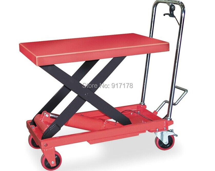 750kg scissor lift table cart  цены