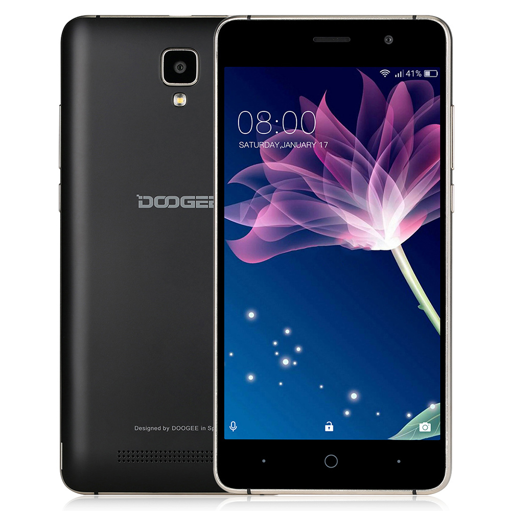Original Doogee X10 3G 5 inch Android 6 0 Smartphone MTK6570 Dual Core 1 0GHz 512MB