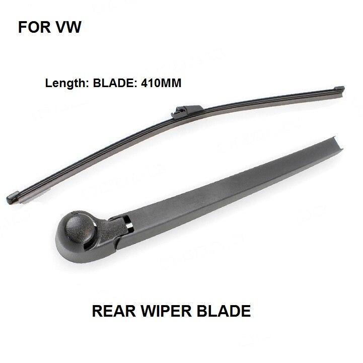 FOR VW Transporter T5 Multivan 2003-2009 Rear Window Windshiel Wiper Arm + Blade SET