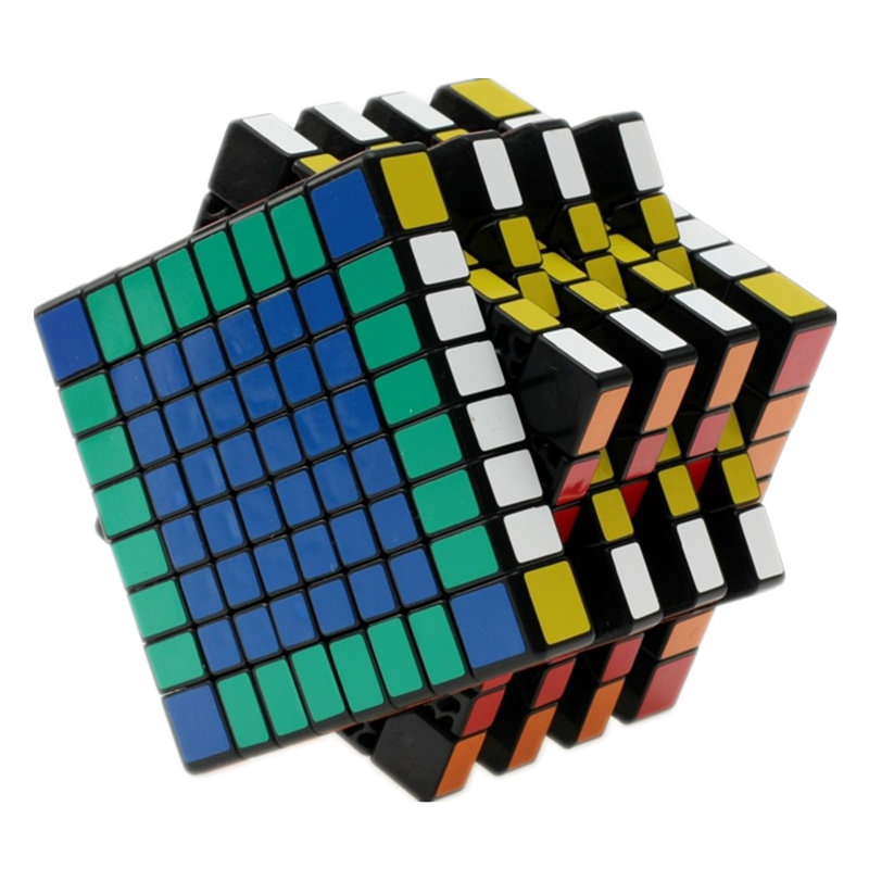 8x8x8 Professional Magic Cube Match High Speed Smooth Rubiks Cube Learning Education Toys Kids Children Gifts Length 8.3cm