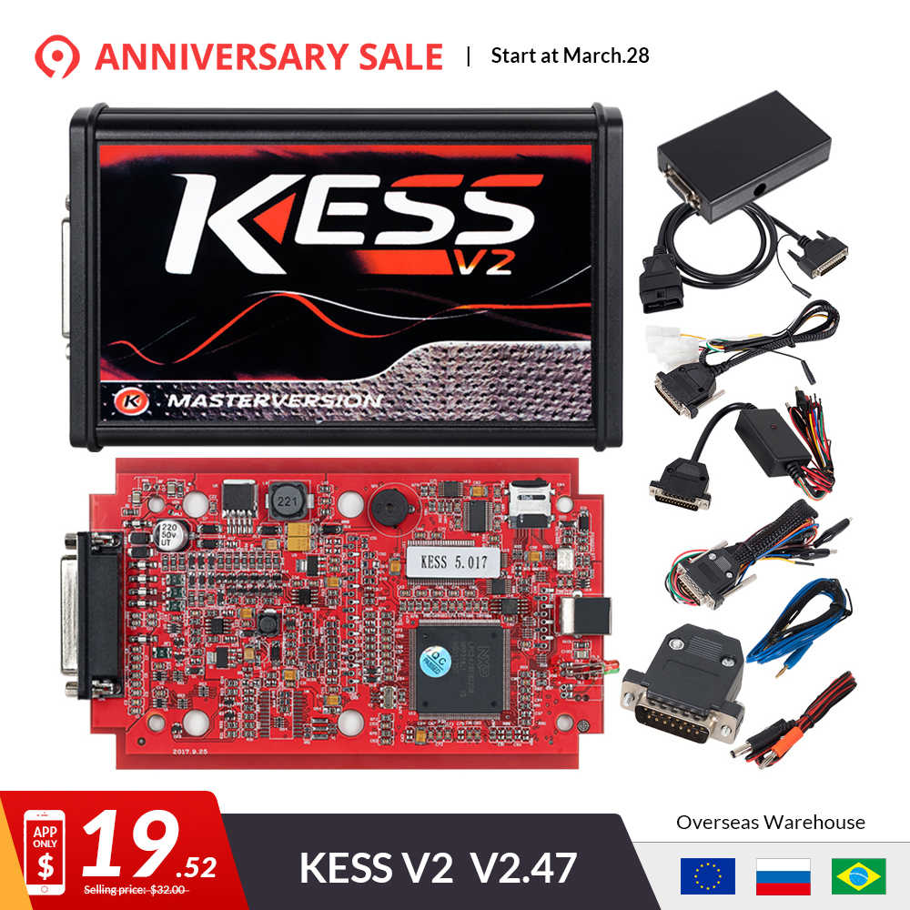 Detail Feedback Questions about KESS v2 V5 017 EU Red OBD 2 ECU