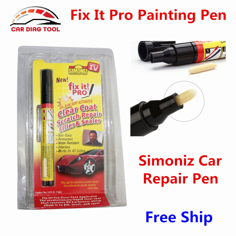 new arrival fix it pro pen with original retail box clear car scratch repair remover pen simoniz. Black Bedroom Furniture Sets. Home Design Ideas