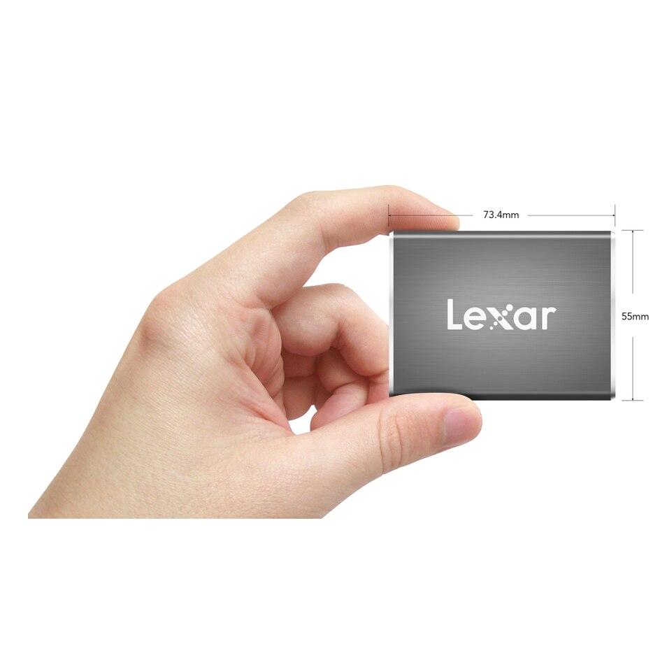 Lexar SL100 Pro USB 3 1 Type C External SSD HDD 512GB 250GB 500GB 1TB Portable