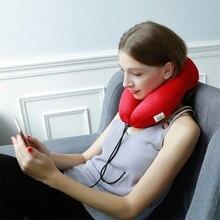 iCaroom U-Shape Travel Pillow for Airplane Space Memory Foam Car Neck Comfortable Pillows Nursing Accessories