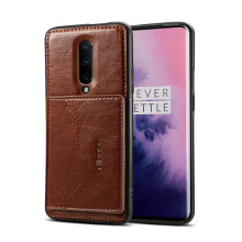 1+7 Magnetic Car Holder case for oneplus 7 pro Luxury PU Leather Kickstand Back Case oneplus 7 pro Card Wallet Flip Stand Cover