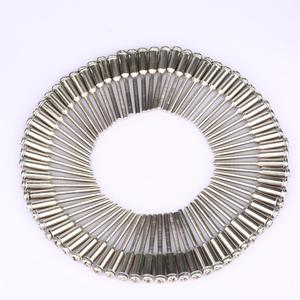 Image 3 - DRELD 50 Pcs 2.35mm Shank יהלומי חיתוך דיסק Mandrels ליטוש חיתוך חתוך גלגל מחזיק רוטרי כלי dremel אבזרים