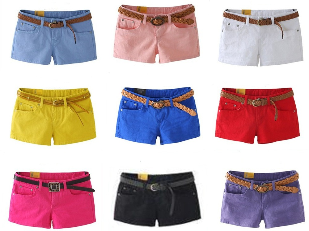 New 2015 Shorts Women Summer Short Pants multi candy colors ...