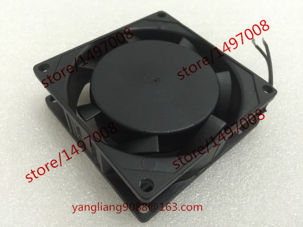 Free Shipping Emacro AXIAL G8025HA2BLX AC 220V 0.08A 2-wire 80mm 80X80X25mm Server Spuare Cooling fan free shipping comair rotron fe24b3 80mm 8cm 8025 dc 24v 2 wire cooling fan