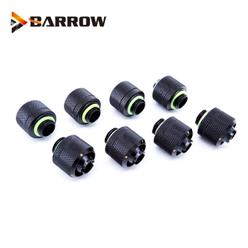 BARROW 8pcs/lot use for Inside Diameter 10mm + Outside 16mm Soft Pipes 3/8ID 5/8OD Tube G1/4 Hose Fittings