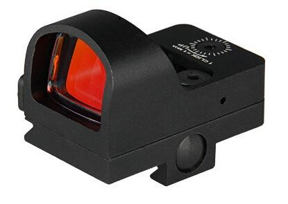 Тактический 2 МОА коллиматорный прицел прицел для охоты водонепроницаемый черный