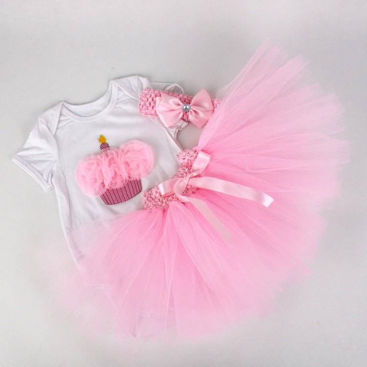 Newborn Girls Summer Baby Clothing Sets (4)