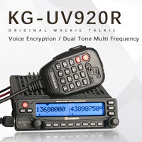 Applies to Wouxun KG UV920R Car Mobile Dual Band Radio 136 174 / 400 480Mhz DTMF MIC KGUV920R Mobile Radio Dualband Freeshipping
