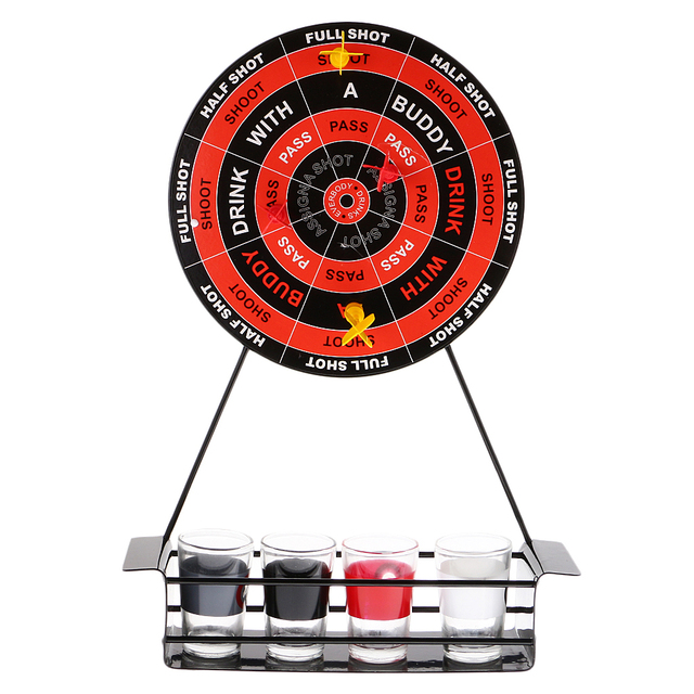 Funny Set Of Darts Shots Novelty Drinking Game Magnetic Board Giftable Party Indoor Sports Dart
