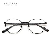 588f3788845 Verres métalliques Cadre Hommes Femmes Rétro lunettes Clair Vintage  Harajuku Grade Rond Noir Lunettes Pour Femmes Armaçoes De   .
