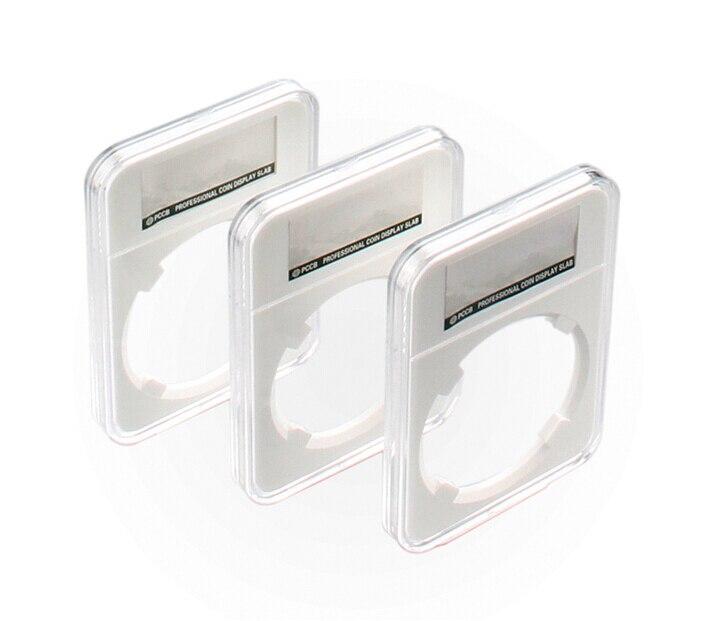 10 Unids lote Nueva Alta Calidad PCCB COIN DISPLAY PROFESIONAL Caja De  recogida de Almacenamiento cuadro de Identificación de Monedas LOSA de  acrílico 29.5- ... 2b0e5327c4e