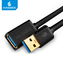 Hagibis USB3.0 Extension Cable Super Speed Male to Female 1m Data Sync Cable USB 3.0 Extender for Computer PC Hard Disk