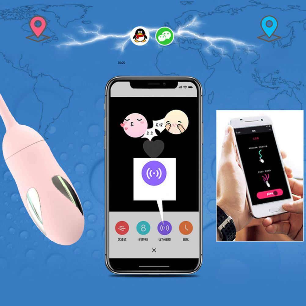 APP contrôle vibrateur oeuf g-spot stimulateur Masturbation adulte jouet sexuel femme
