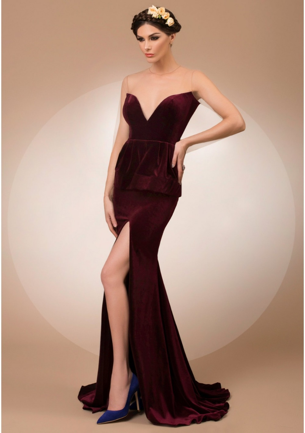 Popular Formal Velvet Dresses-Buy Cheap Formal Velvet Dresses lots ...