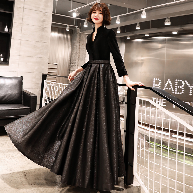 Detail Feedback Questions about Robe de Soiree Sexy Velour Evening Dresses  2019 Deep V Neck Design Elegant Velvet Party Formal Evening Gowns LYFY69 on  ... 19113f5e2ce2