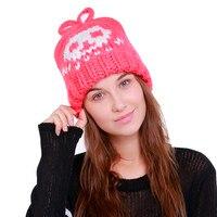 ChamsGend 2017 Hot Sale High Quality Women Warm Crochet Winter Wool Knit Ski Beanie Skull Caps