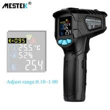 MESTEK -50-800C IR Thermometer IR01D Digital Non-contact Humidity Infr