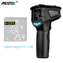 MESTEK -50-800C IR Thermometer IR01D Digital Non-contact Humidity Infrared Thermometer Hygrometer Temperature Pyrometer Tester(China)