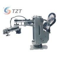 2018 SCARA Robot Mechanical Arm Hand Manipulator 4 Axis Stepper Motor Assembled Robot Arm
