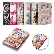 цена на Funda Case For Apple iPad 2 3 4 Fashion 3D Printed Leather Flip Wallet Case Silicone Shell Coque 9.7 inch for iPad2 iPad3 iPad4