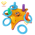 Swimming Ring Pool Float Toy Inflatable Starfish Ring Toss Game For Child & Adult Water Sports Party Supplies PVC Ferrule Games