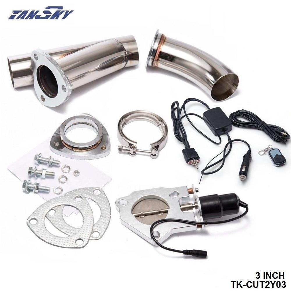 Universel Tuyau d/'Échappement Clamp-T304 en acier inoxydable-Large Gamme De Tailles
