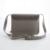Moda Cadena de la Mujer Pequeña Bolsa de Mensajero Del Otoño y el Invierno de Gamuza Nuevo Cuero de LA PU Bolso Femenino Círculo de Metal Flap Bag