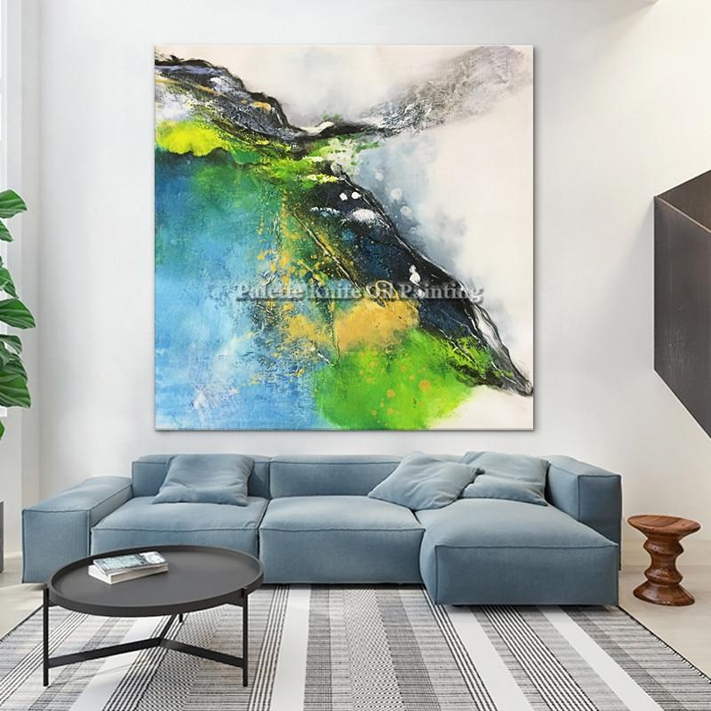 Color, Room, Decoracion, Acrylic, Green, Modern