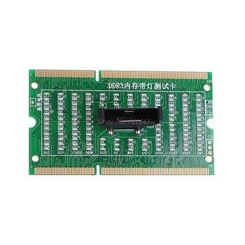 DDR3 זיכרון חריץ Tester כרטיס עם LED אור עבור מחשב נייד מחברת האם