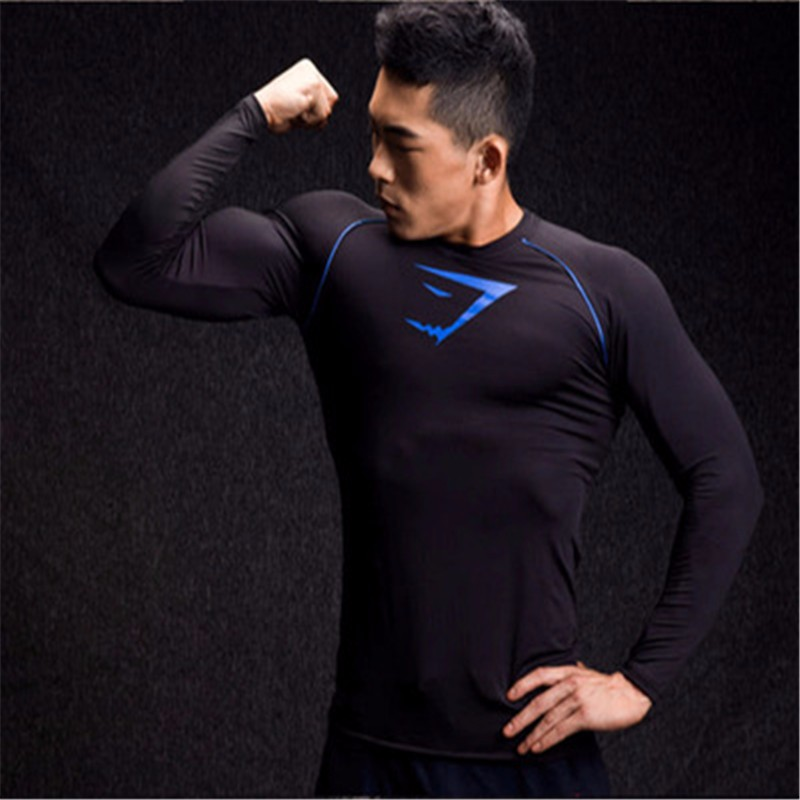 73385d9904eb 2016 New Brothers gymshark T shirt Muscle Shirt Men Fitness Slim ...