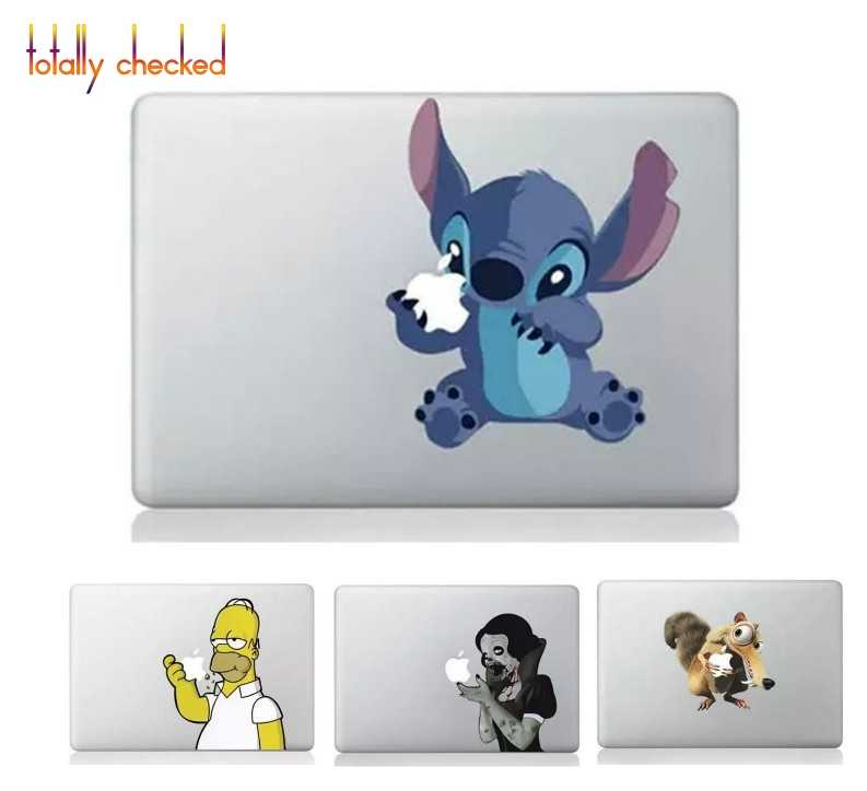 New Funny Design Laptop Sticker for Apple Macbook Pro Air Retina 13 15.4 11 12 MAC Vinyl PC Notebook Skin Computer Decal Sticker