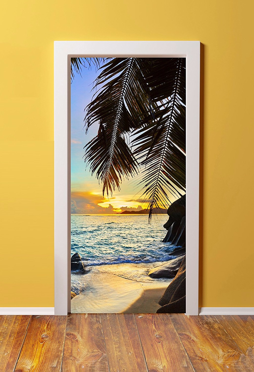 Diy 3d Wall Sticker Mural Home Decor Tropical Island