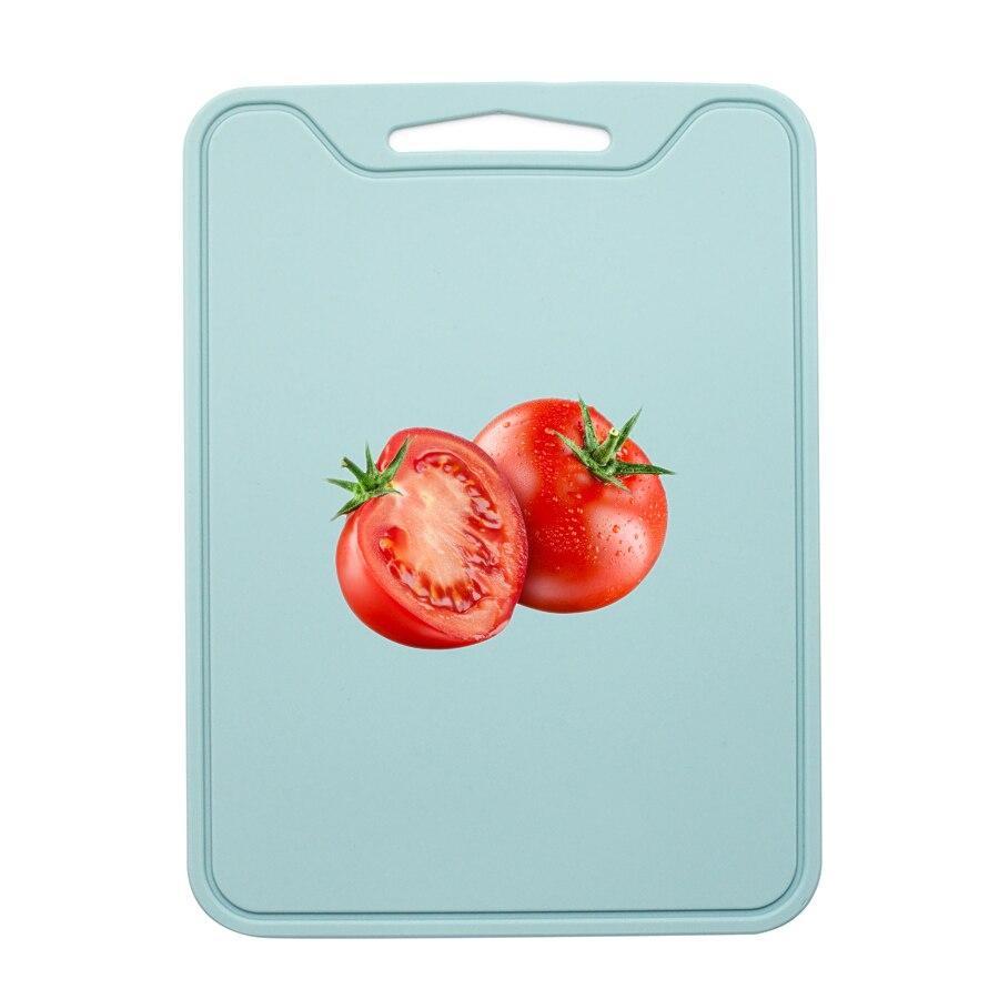 Flexible Silikon Schneiden Bord (Verdicken), 29x21,5 cm, Nicht Slip, Robust, food Grade, ungiftig