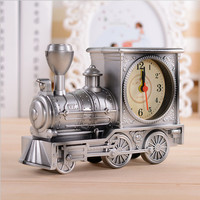 Antique Train Shape Alarm Clock To Get Up At Home Creative Alarm Clock Children S Gifts