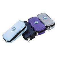 Insulin Cooler Bag For Diabetes Travel Case Medical Keep Cooler For 24 Hours WithTemperature 4 24 Celsius Display &Ice Gel Packs