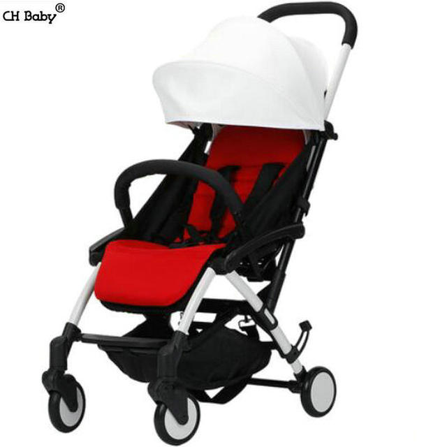 CH baby ultra light 4.9kg baby travel stroller easy carry on plane fold portable baby pram